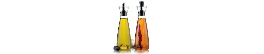 L'huile, le vinaigre et les sauces