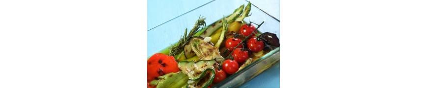 Les légumes marinés et confits